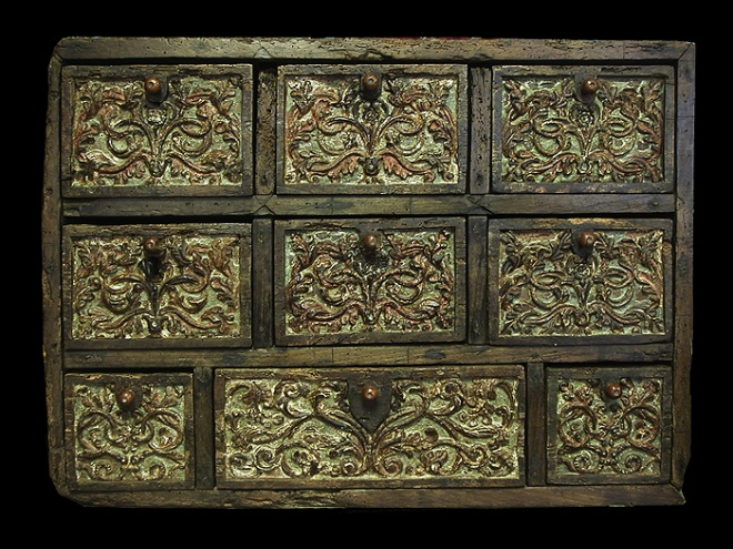 16th Century Cabinet after restoration