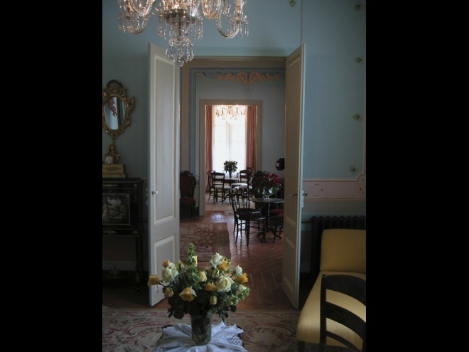 19th Century Living Space after restoration.